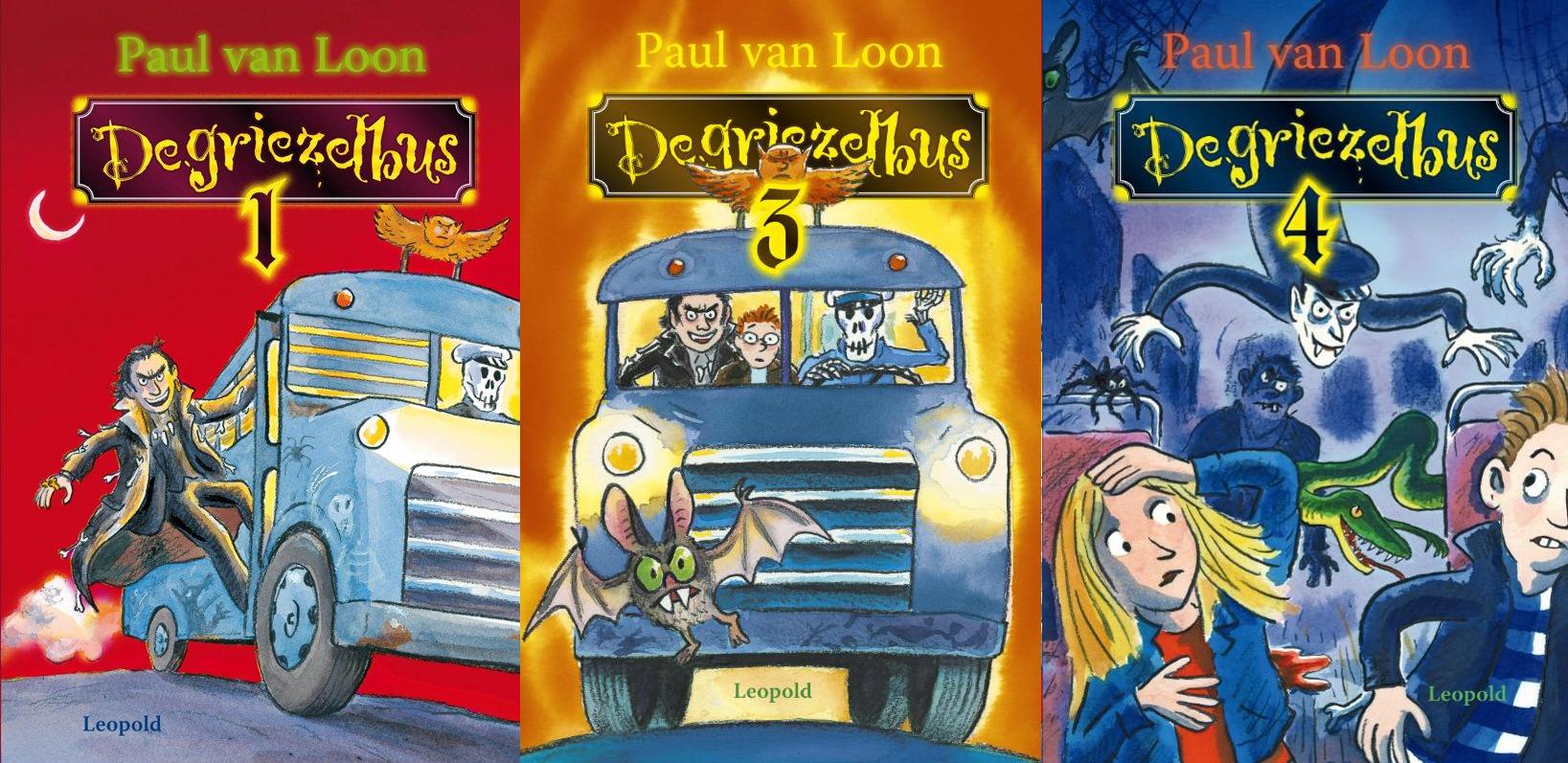 De Griezelbus 1, 3 en 4